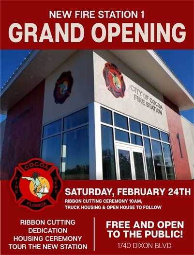 Station 1 Grand Opening