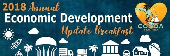 2018 Annual Economic Development Update Breakfast Header Image