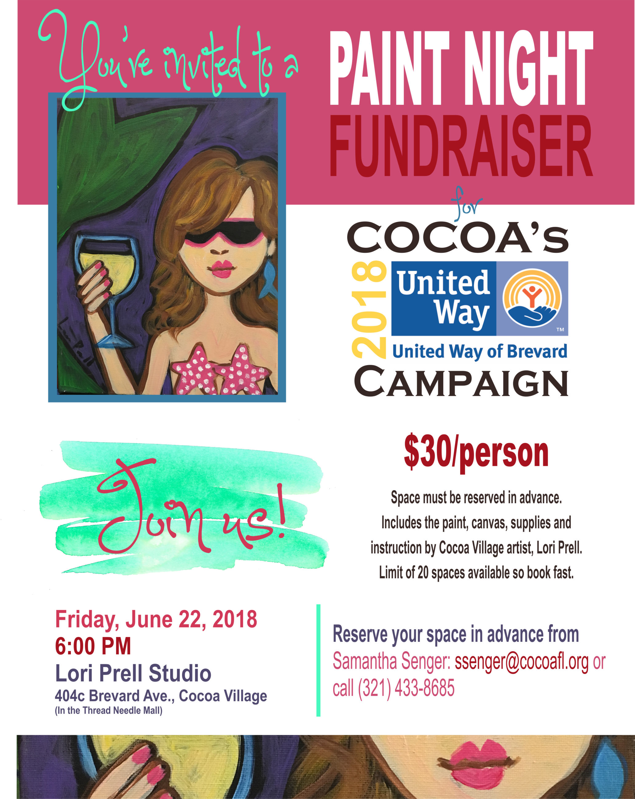 Paint Night June 2018