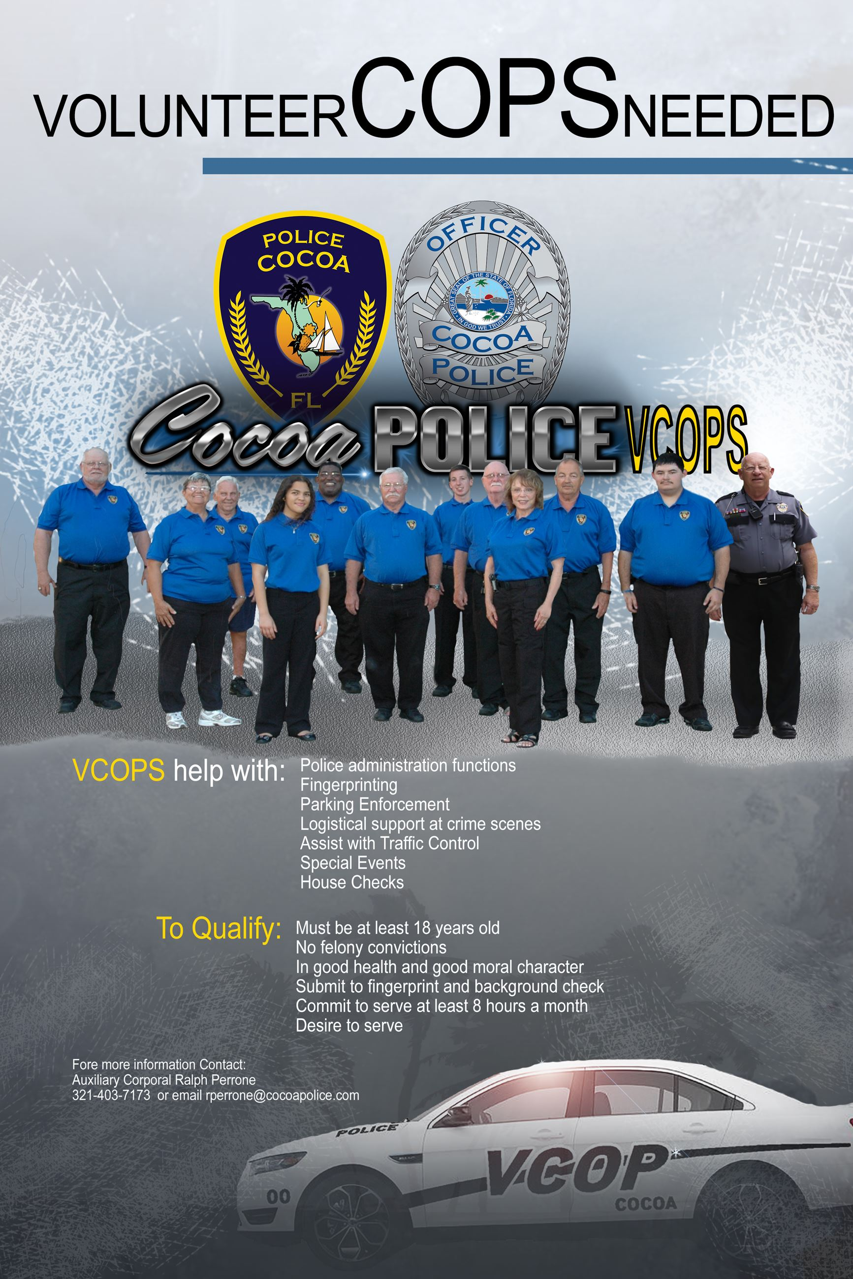 Vcop Recruiting WITH Chico Added