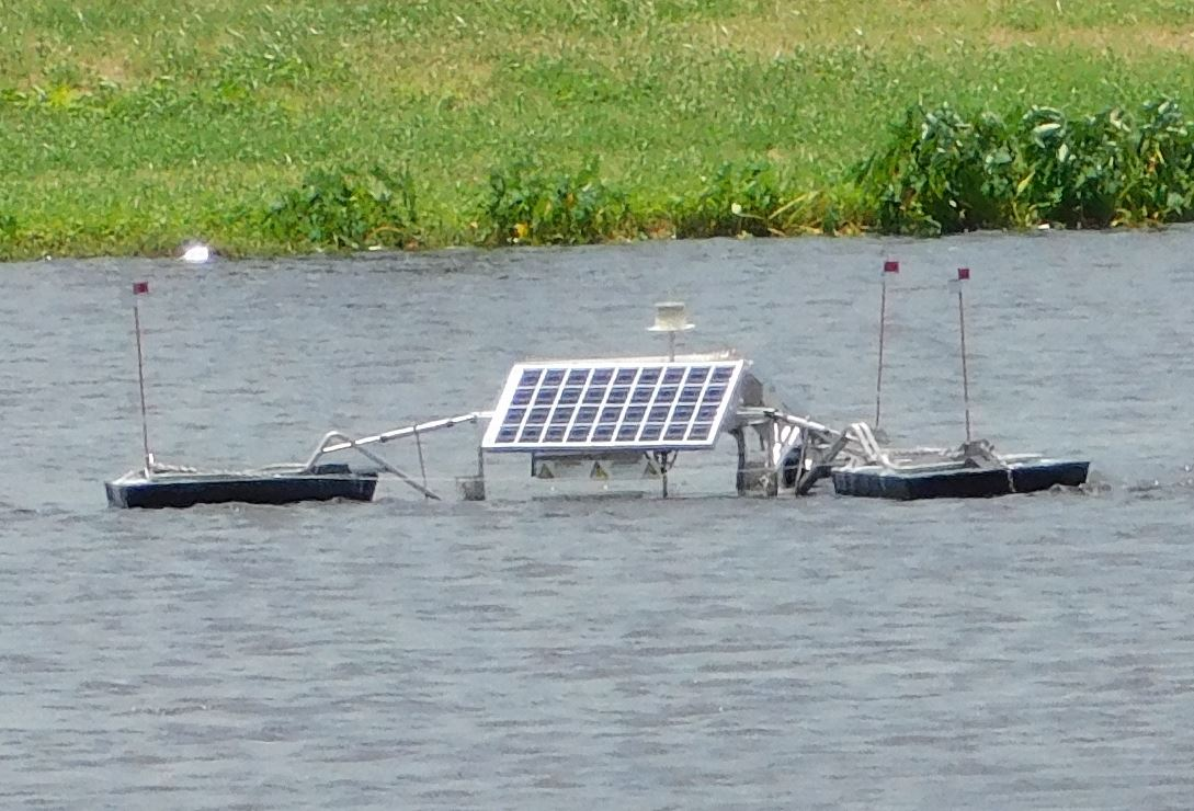 SolarBee in Bracco Pond B
