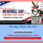 Memorial Day 2019 Save the Date 2
