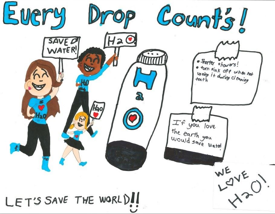 Drop Savers Poster Contest Division 3 Winner_Cocoa Utilities Dept