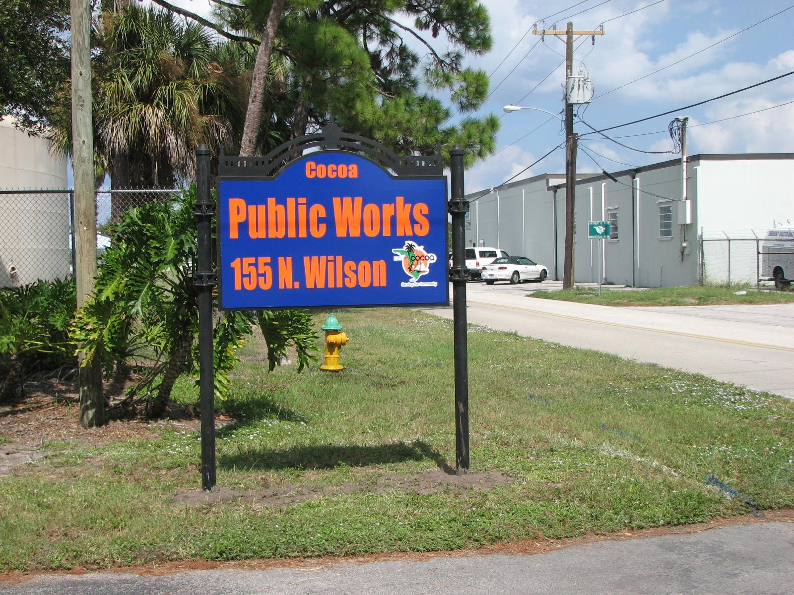 PW Sign