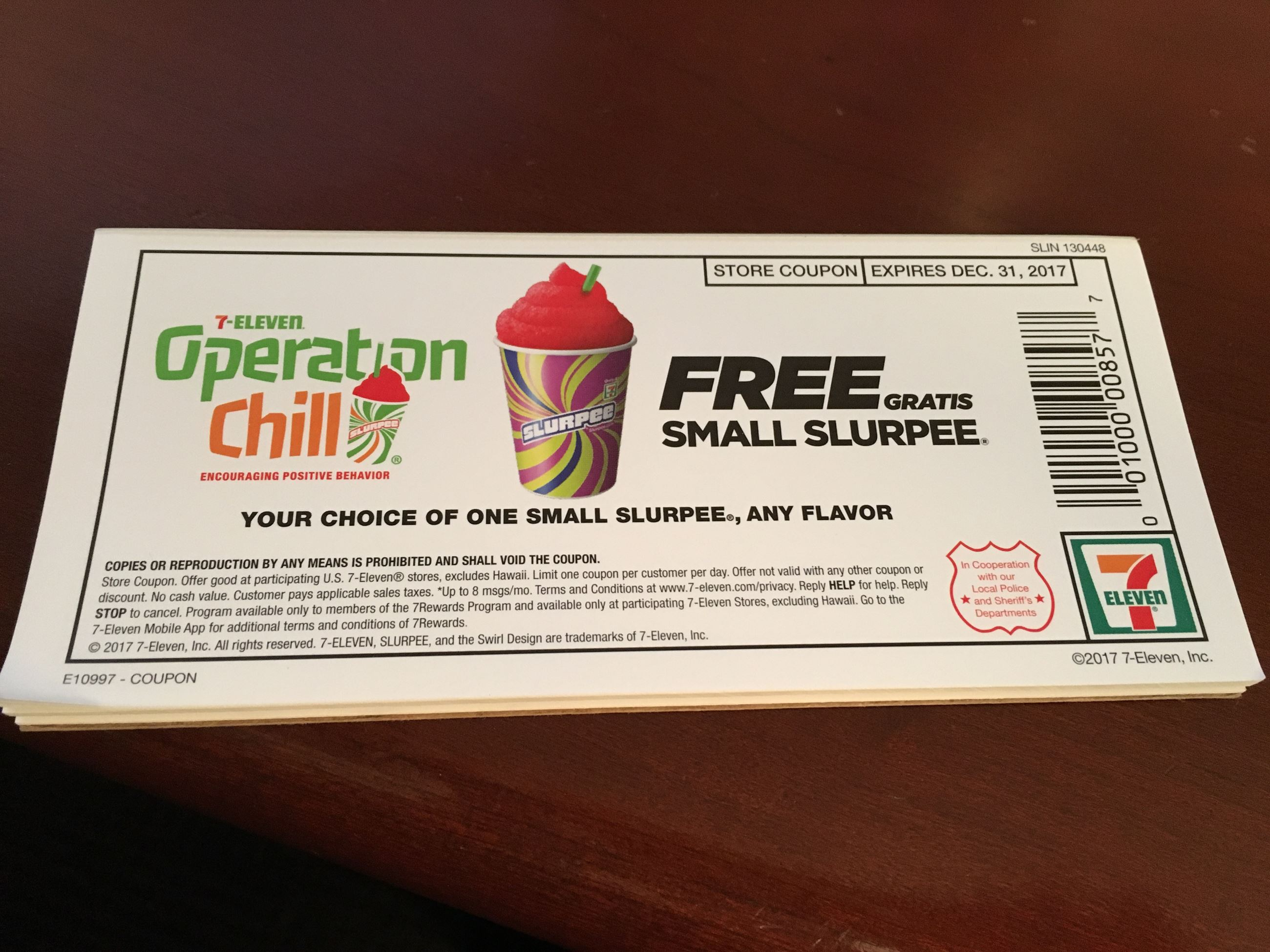 Operation Chill Coupon