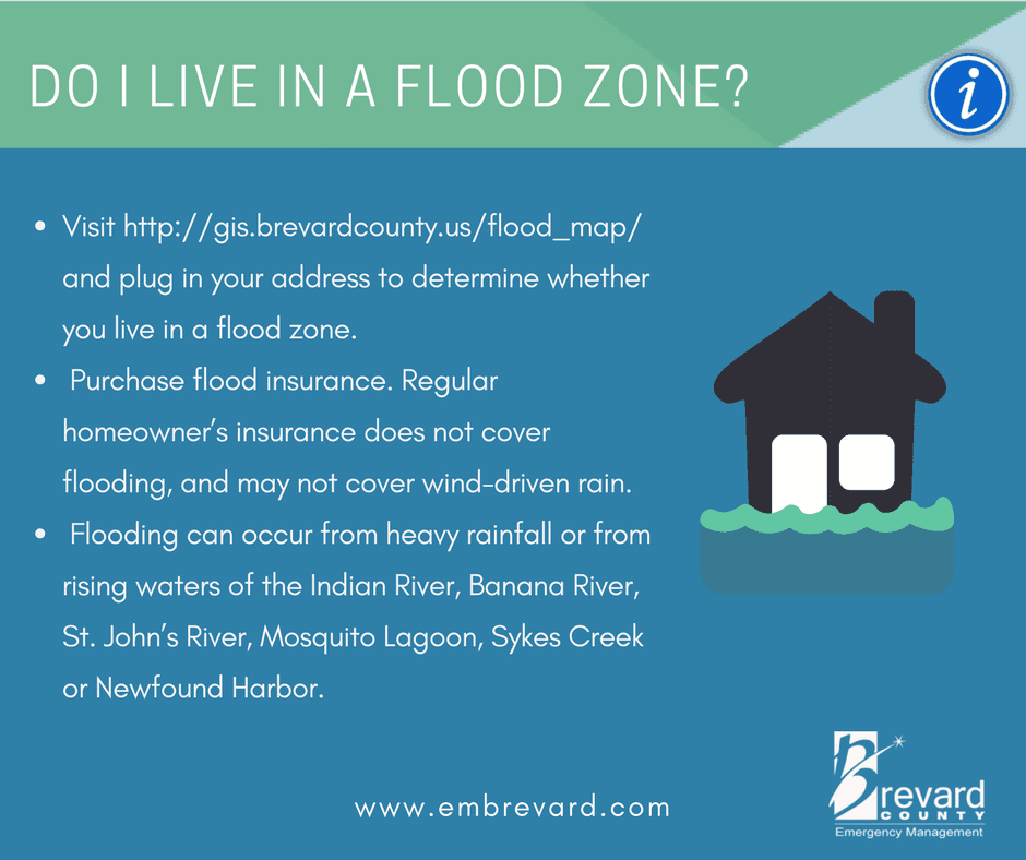 Do I live in a flood zone? visit http://gis.brevardcounty.us/flood_map/ to find out.