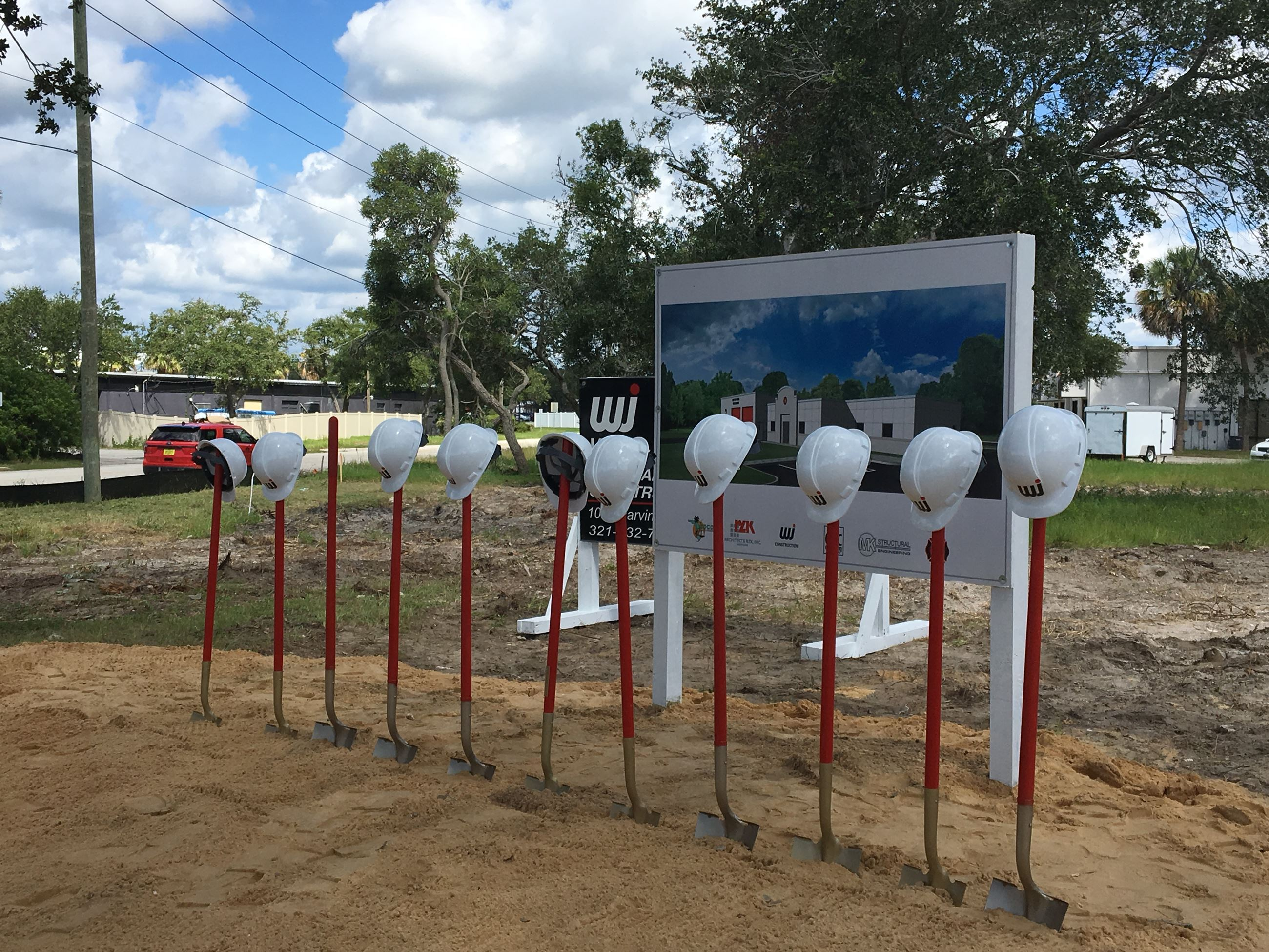Fire Station 2 Groundbreaking Ceremony