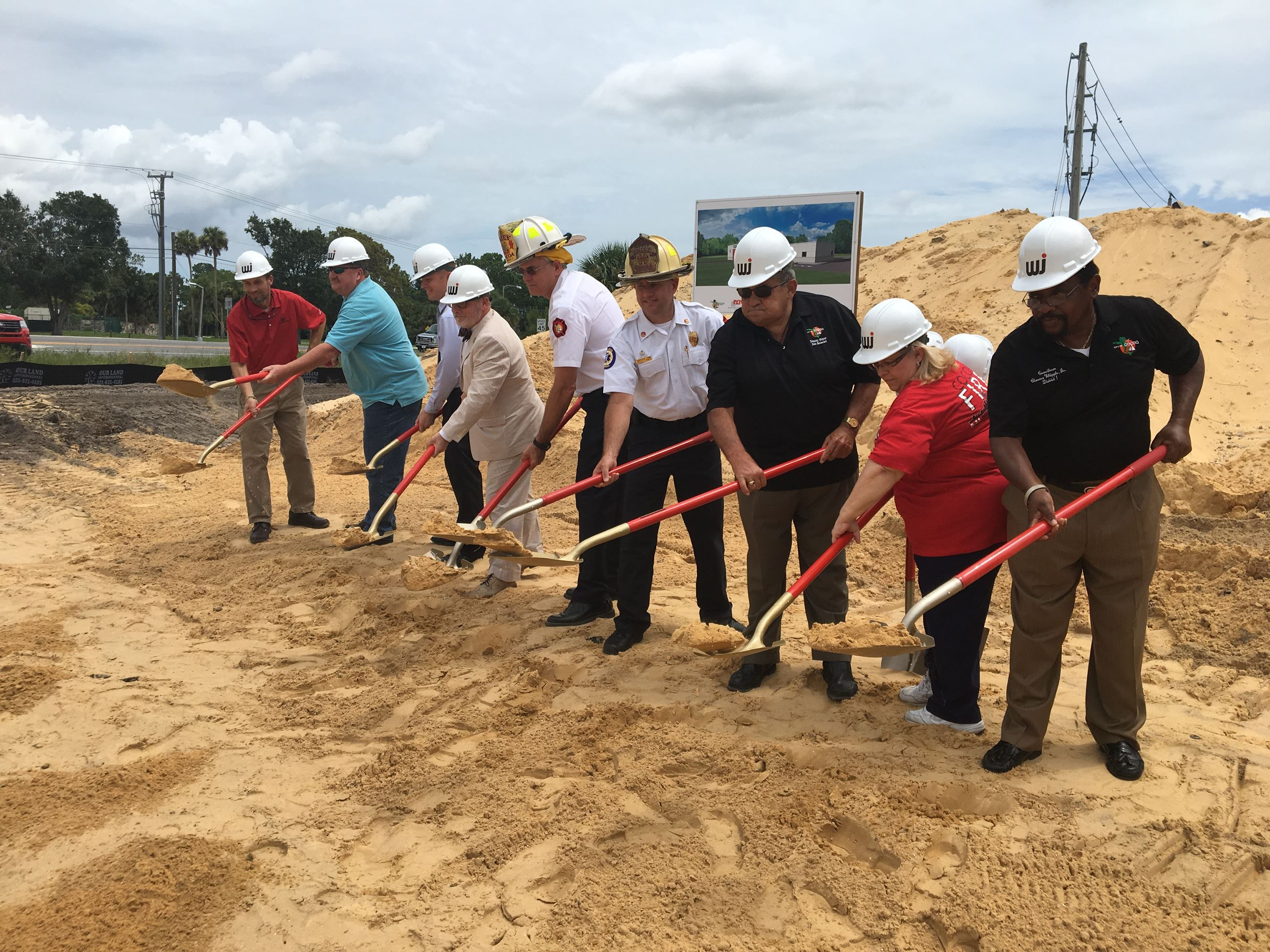 Fire Station 3 Groundbreaking Ceremony