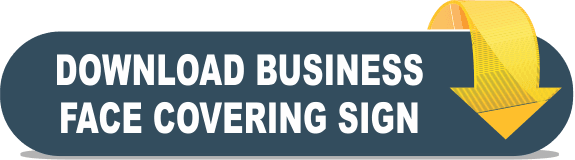 Download business face covering sign Opens in new window