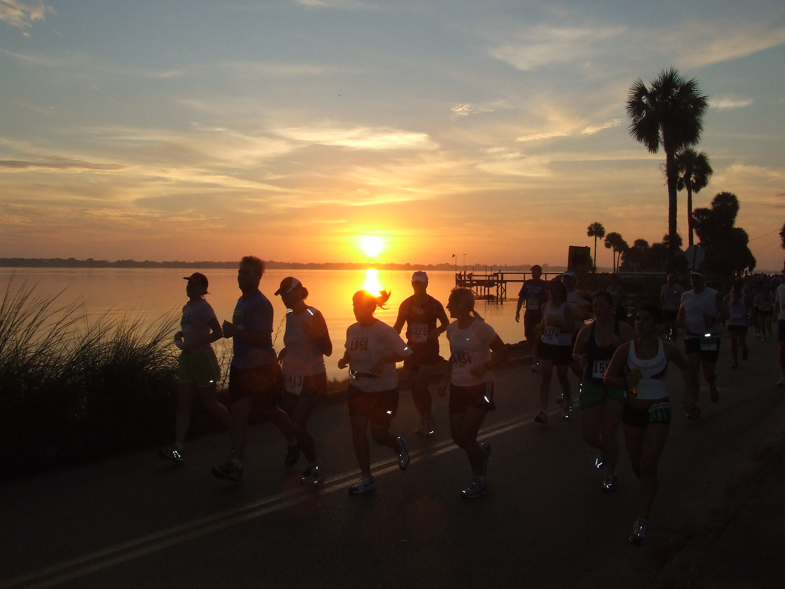Run along Indian River